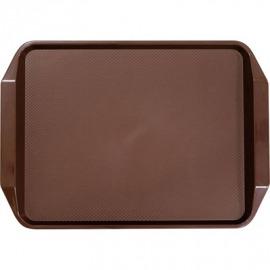 Catering zásobník s protišmykovou úpravou 425x300x30 mm, bronz