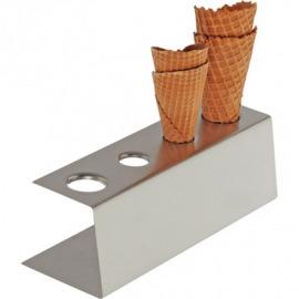 vafle zmrzlina stánku - 4 95x270x90 mm oplátky