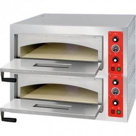 Pizza pece dvojkomorové 18 x 32 cm rozmery. ext. 2x 986x1008x145 mm vonkajšie rozmery. 1305x1091x753 mm