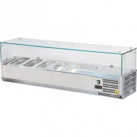 Chladiace Výtrina so sklenenou vrx1200/300