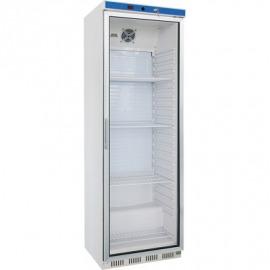 Chladnička expozičná 350 rokov, interiér ABS, bielo lakovaný