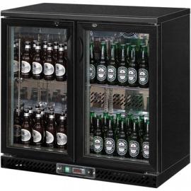 Chladič na fľaše 250 l posuvné dvere