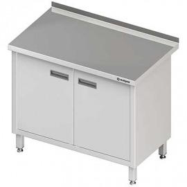 Stôl priečne s dvojkrídlovými dverami 1000x700x850 mm