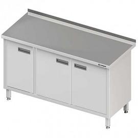 Stôl priečne s dvojkrídlovými dverami 1500x600x850 mm