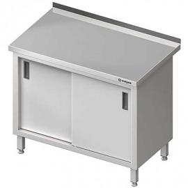 Stôl priečne s posuvnými dverami 1400x600x850 mm