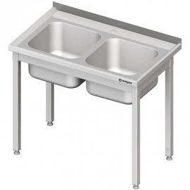 Stôl s umývadlom 2-kom, bez police 1000x700x850 mm skrutka
