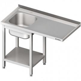 Stôl s drezom 1-kom (L) a priestor pre chladničku alebo umývačky riadu 1200x700x900 mm skrutka.