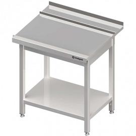 vybíjanie Stôl (p), s policou umývačky silanos 800x700x880 mm skrutka