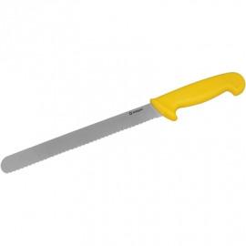 vrúbkovaný nôž 30cm žltá
