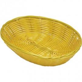 Košík na pečenie polypropylén oválna 23x15x6, 5 cm
