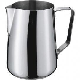 oceľ džbán pre napenenie mlieka 1 l
